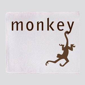 Classic Monkey Throw Blanket