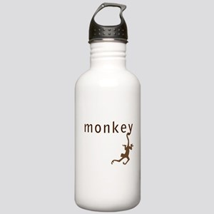 Classic Monkey Stainless Water Bottle 1.0L