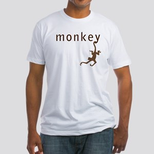 Classic Monkey Fitted T-Shirt