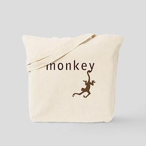 Classic Monkey Tote Bag