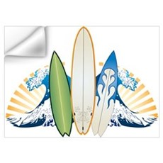 Surfboards Wall Art Wall Decal