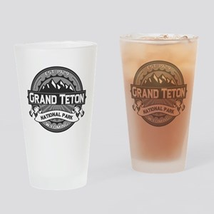 Grand Teton Ansel Adams Drinking Glass