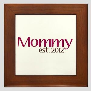 New Mommy 2012 Framed Tile