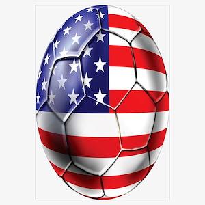 U.S. Soccer Ball Wall Art