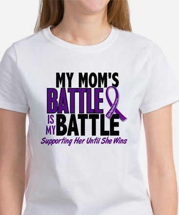 My Battle Too Pancreatic Cancer Women's T-Shirt