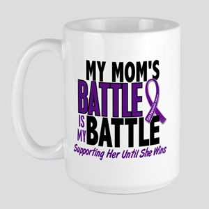 My Battle Too Pancreatic Cancer Large Mug