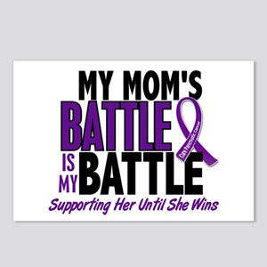 My Battle Too Pancreatic Cancer Postcards (Package