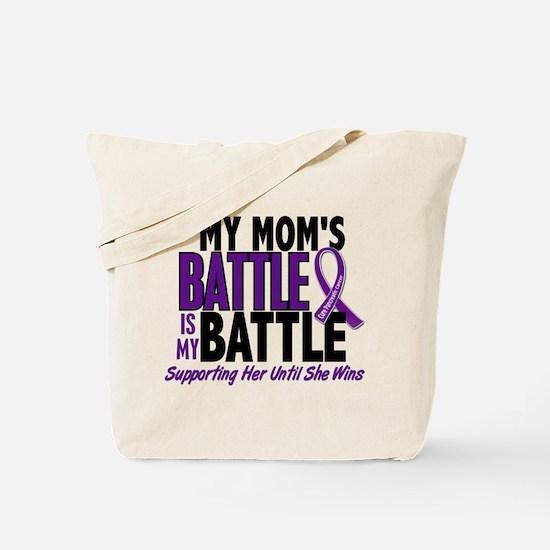 My Battle Too Pancreatic Cancer Tote Bag