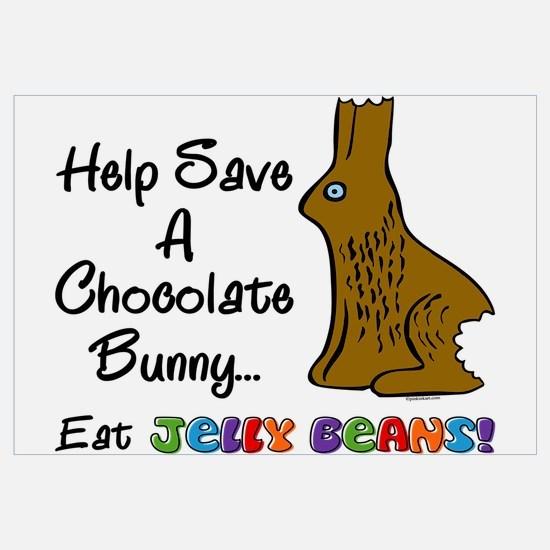 Save A Bunny Wall Art