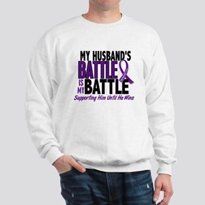 My Battle Too Pancreatic Cancer Sweatshirt