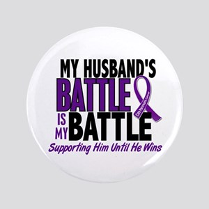 """My Battle Too Pancreatic Cancer 3.5"""" Button"""