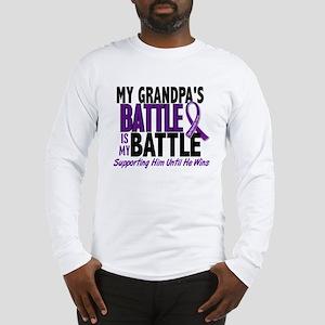My Battle Too Pancreatic Cancer Long Sleeve T-Shir