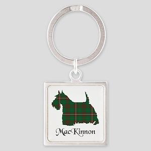 Terrier-MacKinnon hunting Square Keychain