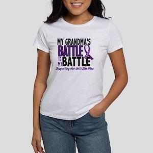 My Battle Too Pancreatic Cancer Women's T-Shirt