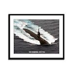USS NORFOLK Framed Panel Print