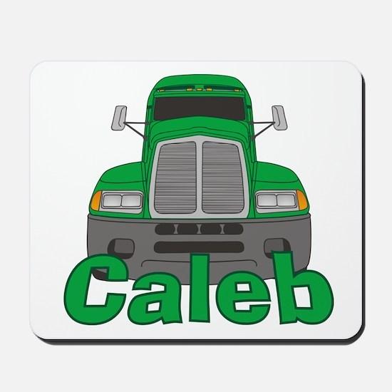 Trucker Caleb Mousepad