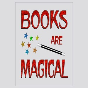 Books are Magical Wall Art