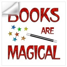 Books are Magical Wall Art Wall Decal