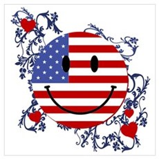 Fourth 4th Of July Wall Art Poster