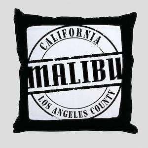 Malibu Title Throw Pillow