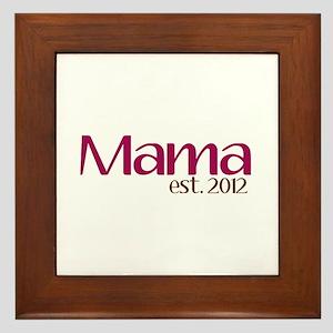 New Mama 2012 Framed Tile