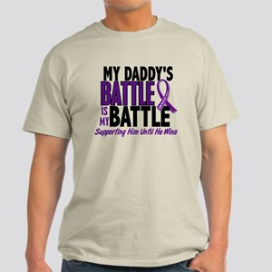 My Battle Too Pancreatic Cancer Light T-Shirt