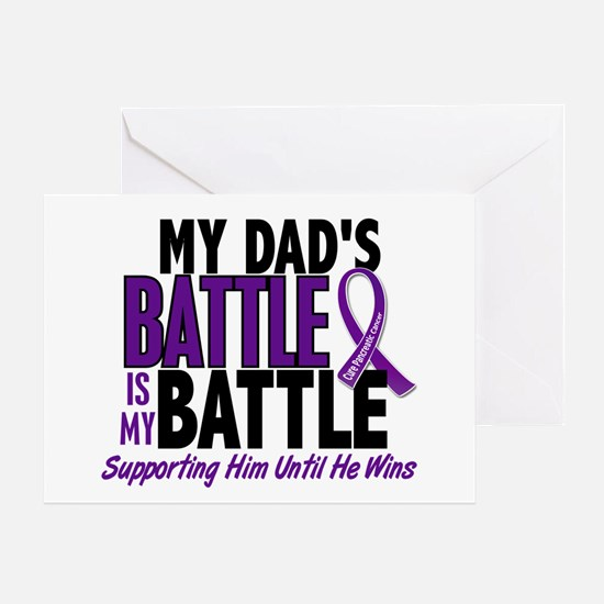 My Battle Too Pancreatic Cancer Greeting Card