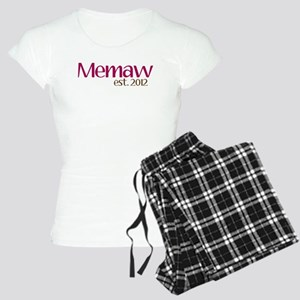 New Memaw 2012 Women's Light Pajamas