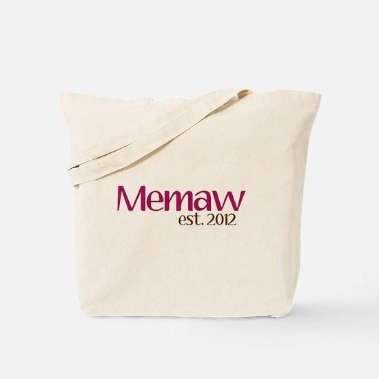 New Memaw 2012 Tote Bag