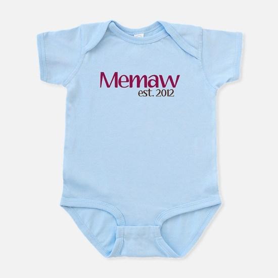 New Memaw 2012 Infant Bodysuit