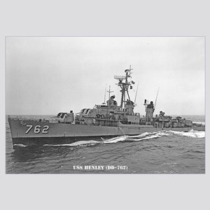 USS HENLEY Wall Art