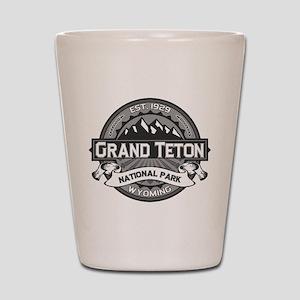 Grand Teton Ansel Adams Shot Glass