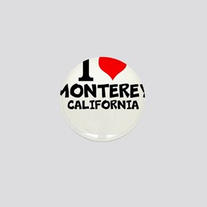 I Love Monterey, California Mini Button