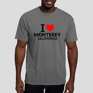 I Love Monterey, California Mens Comfort Color T-S