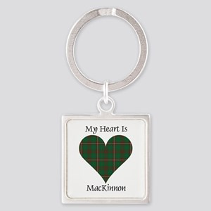 Heart-MacKinnon hunting Square Keychain