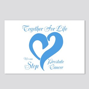 Stop Prostate Cancer Postcards (Package of 8)