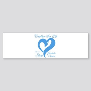 Stop Prostate Cancer Sticker (Bumper)