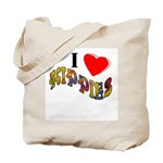 2-sided Hippy Tote Bag