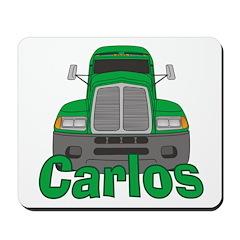 Trucker Carlos Mousepad