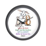 Opt to Adopt Wall Clock