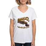 SAAAUCE 1 Women's V-Neck T-Shirt