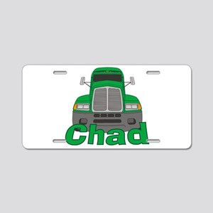 Trucker Chad Aluminum License Plate