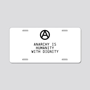 Dignity Aluminum License Plate