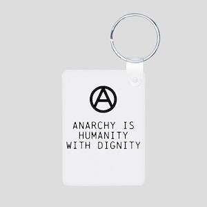 Dignity Aluminum Photo Keychain