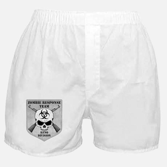 Zombie Response Team: Reno Division Boxer Shorts