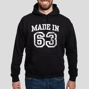 Made in 63 Hoodie (dark)