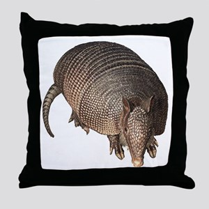 Armadillo Throw Pillow