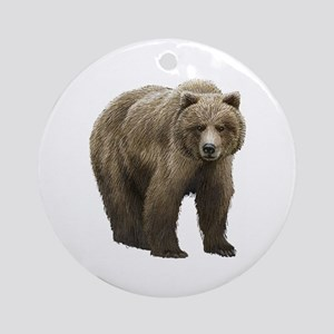 Bear Ornament (Round)