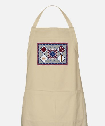 4th of July Quilt BBQ Apron