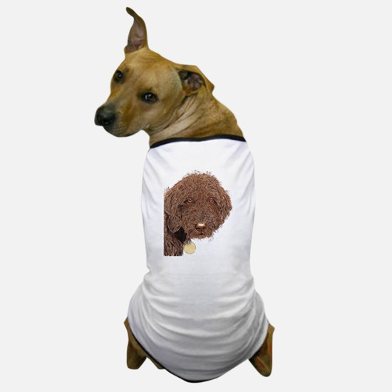 Chocolate Labradoodle 2 Dog T-Shirt
